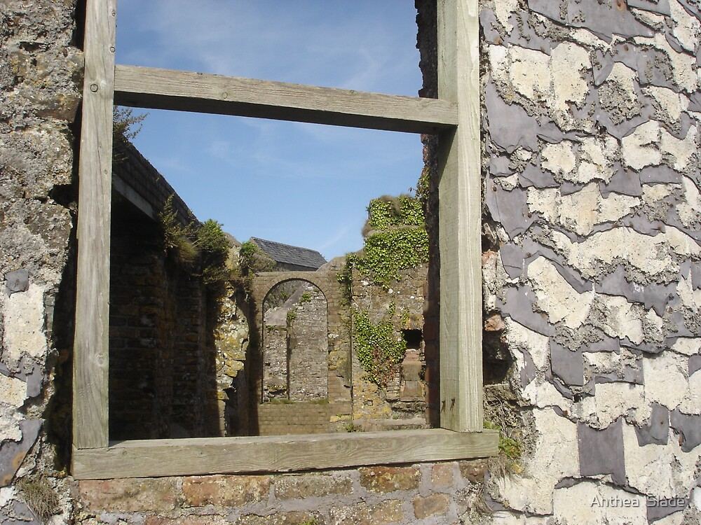 Through the Window, Charles Fort, Kinsale by Anthea  Slade