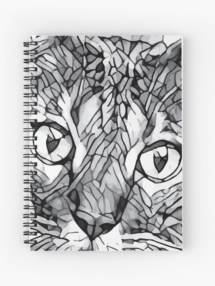 Cat Sketch Line Art