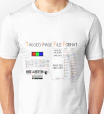 .TIFF : Tagged Image File Format (little endian) Unisex T-Shirt
