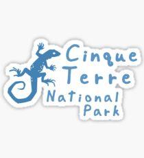 Cinque Terre National Park Sticker
