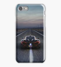Flaming McLaren P1 iPhone Case/Skin