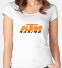 ktm racing Women's Fitted Scoop T-Shirt