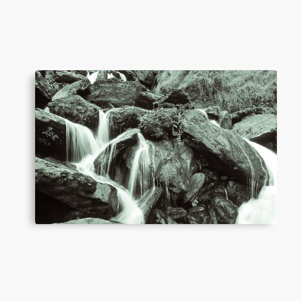 African Waterfall Canvas Print