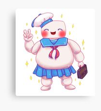 Stay Cute and Puft Canvas Print