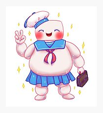 Stay Cute and Puft Photographic Print