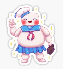 Stay Cute and Puft Sticker