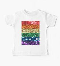 sequin pride flag Baby Tee