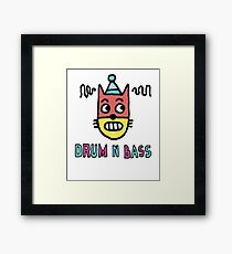 Drum N Bass Framed Print