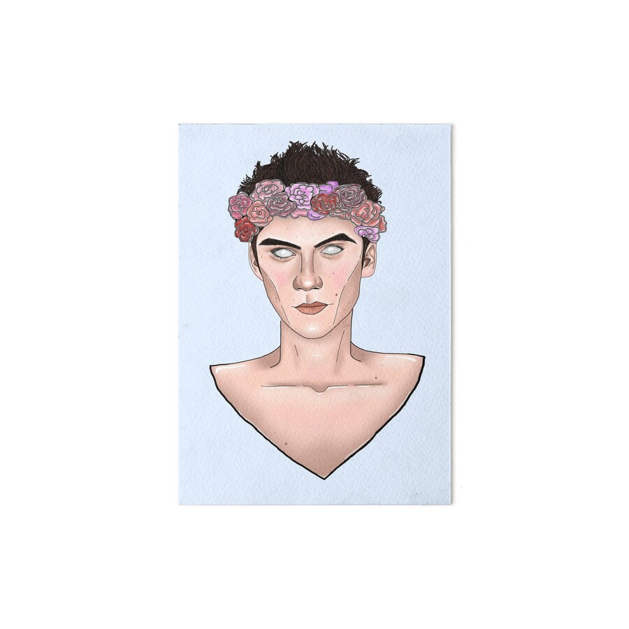 Dylan obrien flower crown tumblr art boards by janina dylan obrien flower crown tumblr by janina izmirmasajfo Image collections