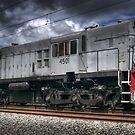 Diesel Electric Locomotive 4501 by Clayton Haynes