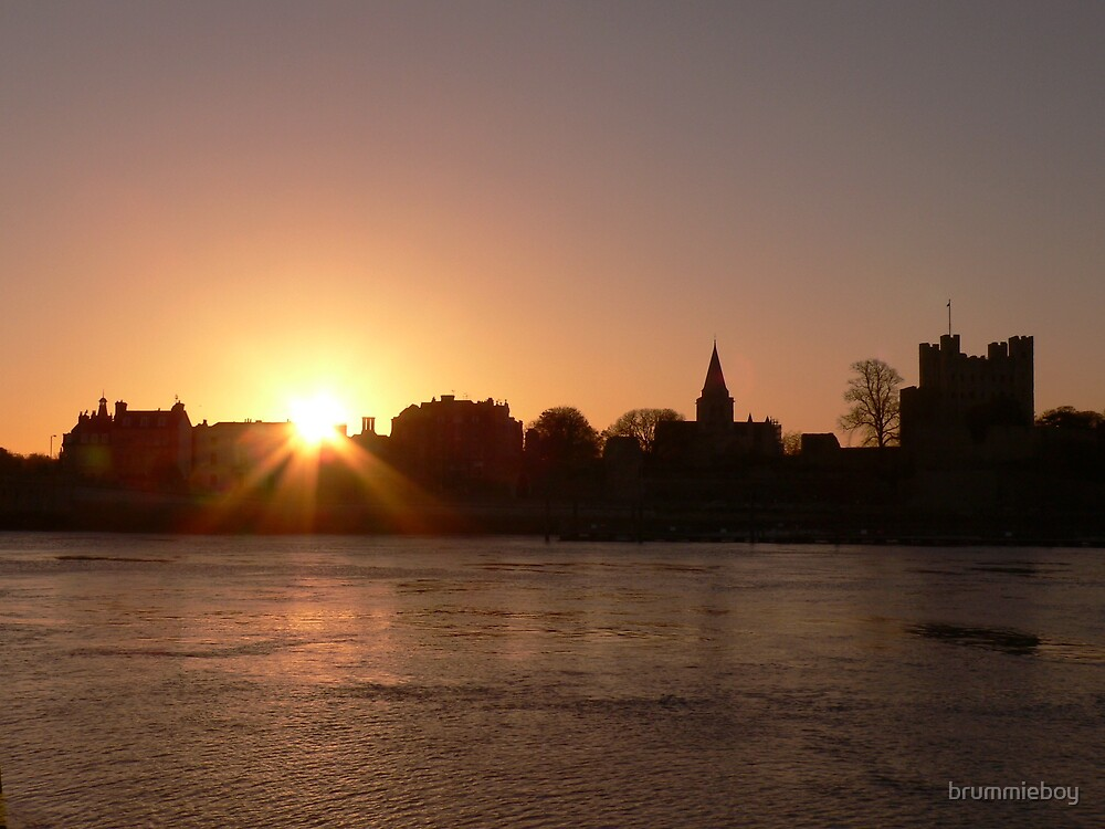 Rochester Morning Silhouette by brummieboy