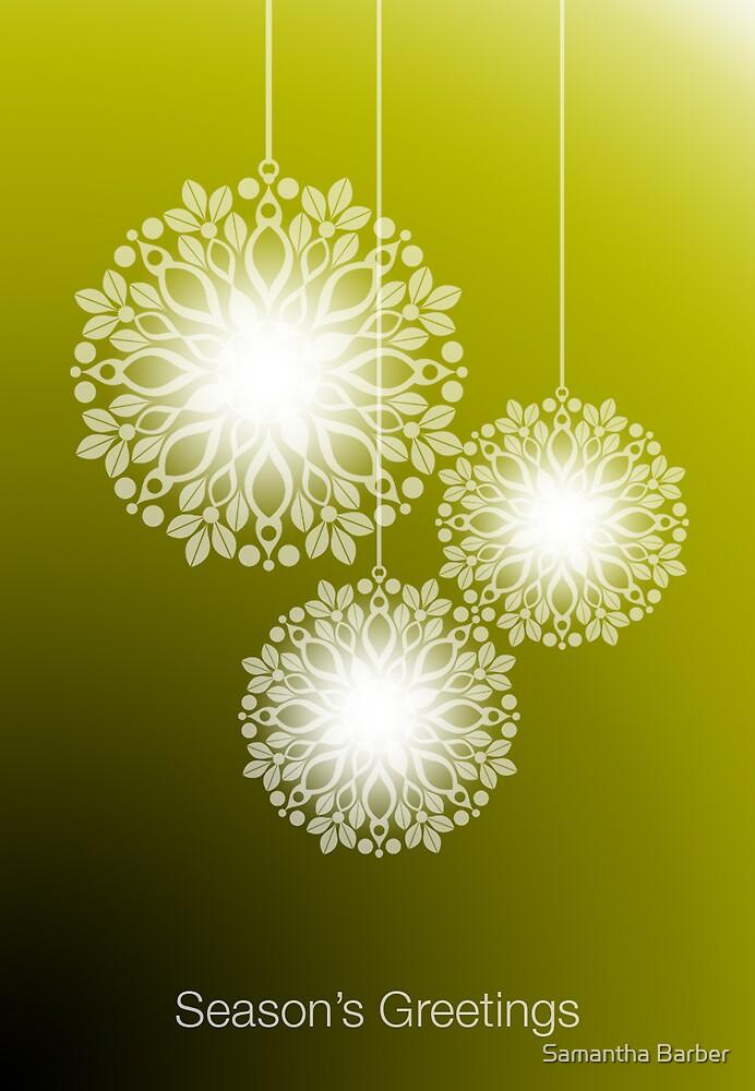 Christmas Lights by Samantha Barber