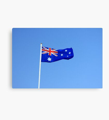 Australian Flag Canvas Print