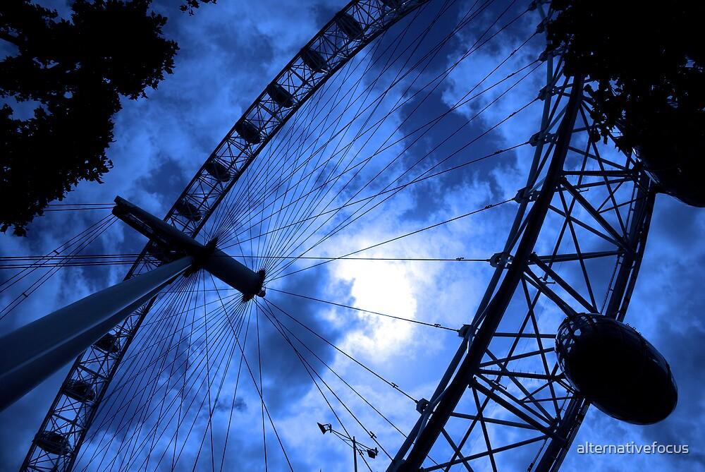blue wheel by alternativefocus