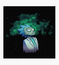 rick and morty imagination Photographic Print