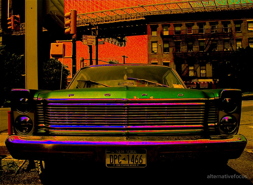 retro car by alternativefocus