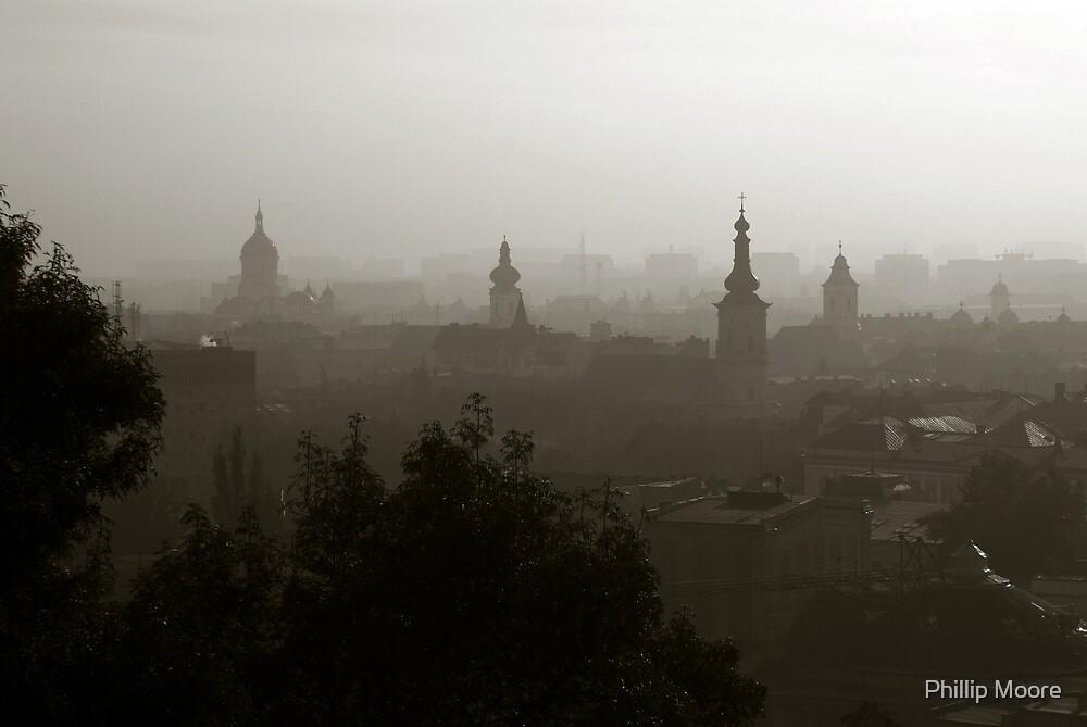 Cluj-Napoca Skyline by Phillip Moore