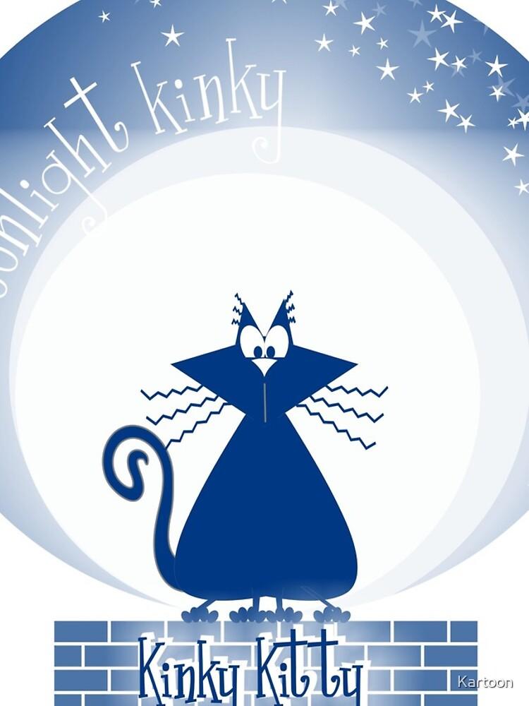 KINKY KITTY - Moonlight Kitty by Kartoon