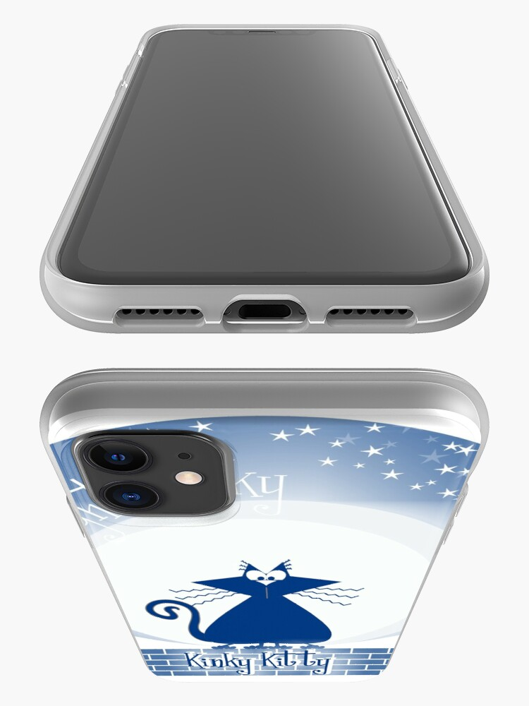 Alternate view of KINKY KITTY - Moonlight Kitty iPhone Case & Cover