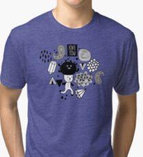 Strange one Tri-blend T-Shirt