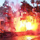 Flaming Ship - Vegas by judygal
