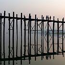 U Bein Bridge, Amarapura by Petr Svarc