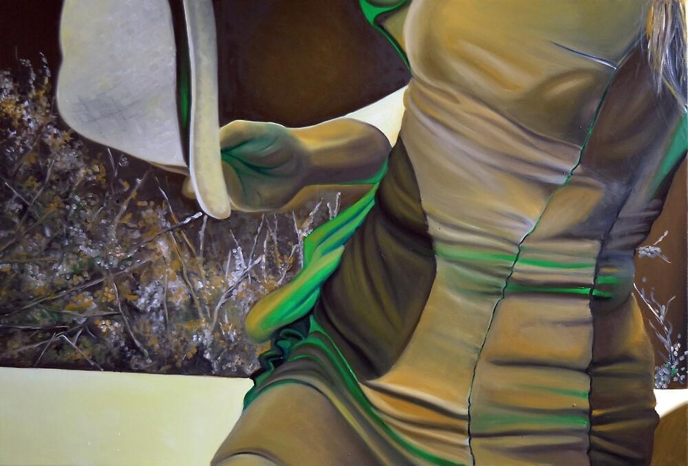 Be my golden sunshine, 120-80cm, 2017, oil on canvas by oanaunciuleanu