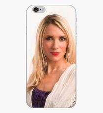 Modesty pose iPhone Case