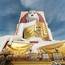 Kyaikpun Buddha, Bago, Burma by Petr Svarc
