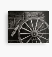 Wagon Wheel Metal Print