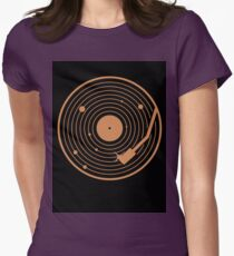 The Vinyl System Womens Fitted T-Shirt