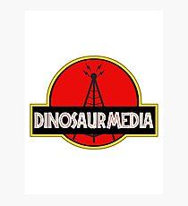 Dinosaur Media Photographic Print
