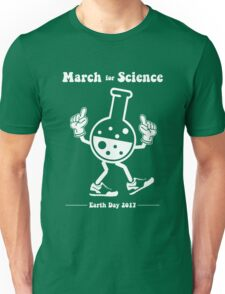 March for Science -- Marching Beaker Unisex T-Shirt