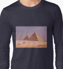 Pyramids of Giza Long Sleeve T-Shirt
