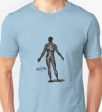 Circulation in the Human Body Unisex T-Shirt