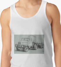 Black and white Scammell. Tank Top