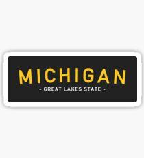 Michigan 2 Sticker