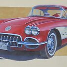 Chevy 1960 by Mike Jeffries