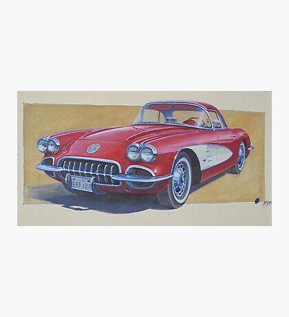 Chevy 1960 Photographic Print