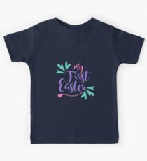 My first Easter - 2 Kids Tee