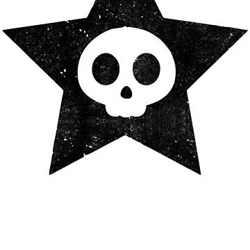Cute Skull in Star by fitriShop
