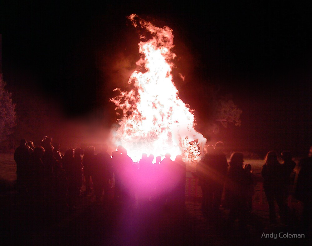 Bonfire Night in Lamberhurst by Andy Coleman