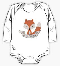 Body de manga larga Oh por el sake de Fox