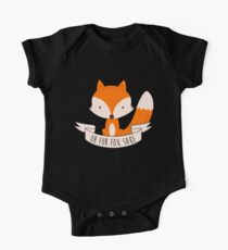 Oh For Fox Sake One Piece - Short Sleeve