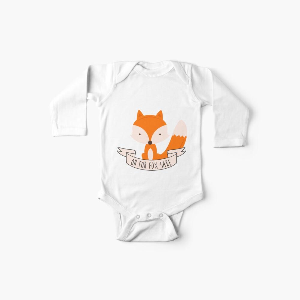 Oh für Fox Sake Baby Bodys