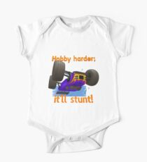 Hobby harder; it'll stunt! One Piece - Short Sleeve