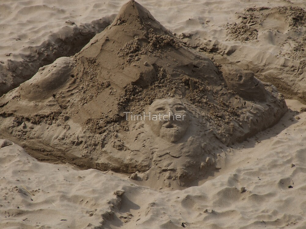 Faces in the sand by TimHatcher