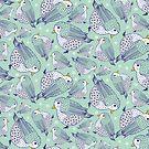 Dotty Vögel von Jacqueline Hurd