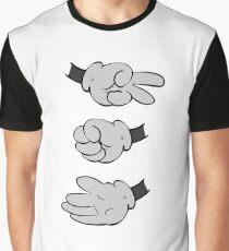 Scissors Rock Paper Graphic T-Shirt