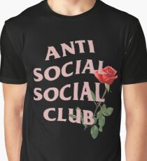 ASSC with Rose Graphic T-Shirt